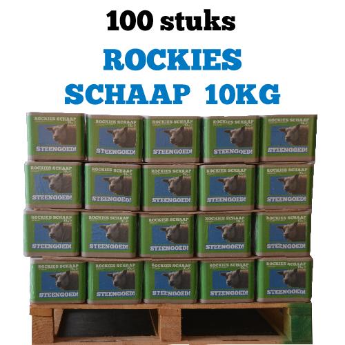 Likstenen Schaap Rockies Schaap 10kg 100 stuks