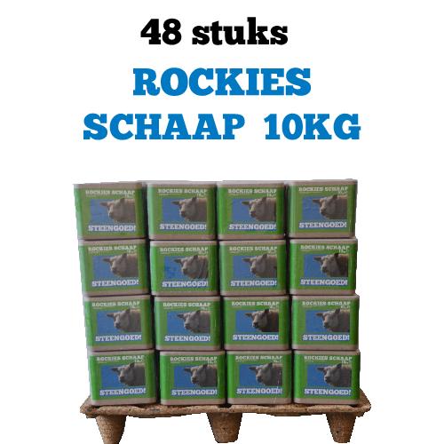 Mineralen schapen Rockies Schaap 10kg 48 stuks